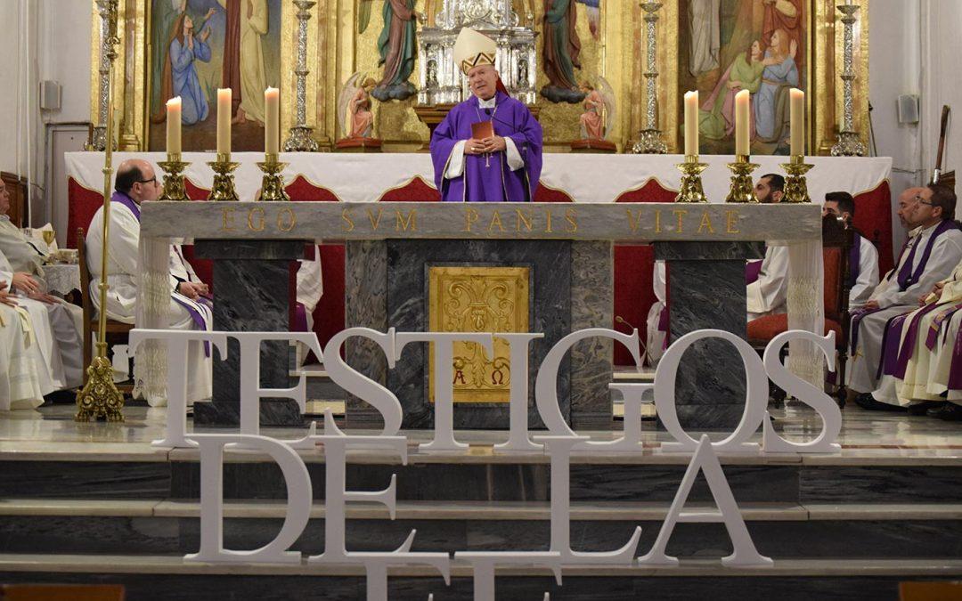 Más de 400 catequistas de toda la Diócesis acuden a Martos para ser testigos de la fe