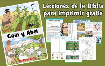 Caín y Abel. La Biblia para niños de 2-5 años