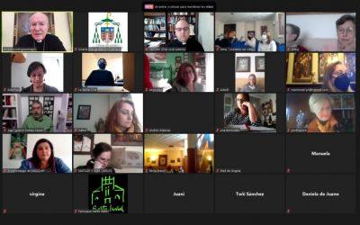 Más de 200 catequistas se reúnen en el encuentro virtual diocesano