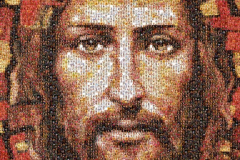 Mosaico de Catequistas de la diócesis de Jaén