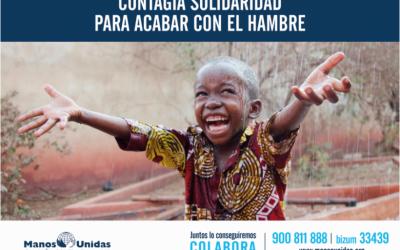 Catequesis DOMUND 2021: Manos Unidas campaña contra el hambre
