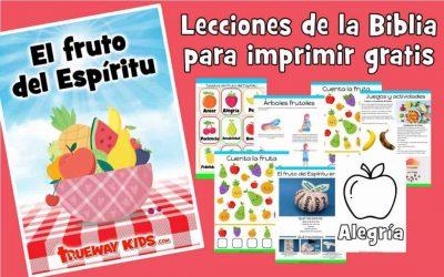 El fruto del Espíritu. La Biblia para niños de 2-5 años