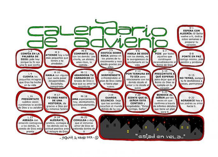 Calendario de Adviento Odres Nuevos