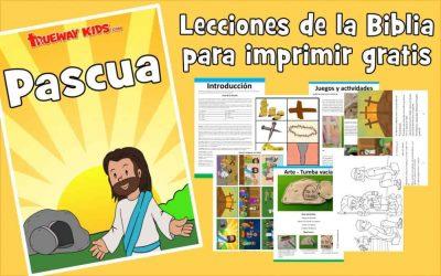 Semana Santa. La Biblia para niños de 2-5 años