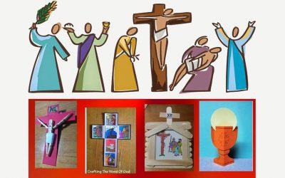 Manualidades para Cuaresma y Semana Santa